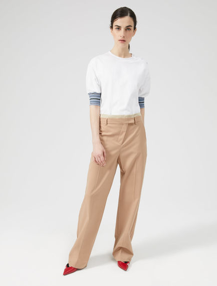 Shifted Zip Trousers Sportmax