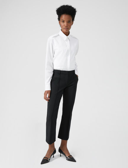 Tailored Kick-flare Trousers Sportmax