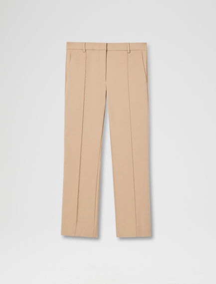 Cotton Kick-flare Trousers