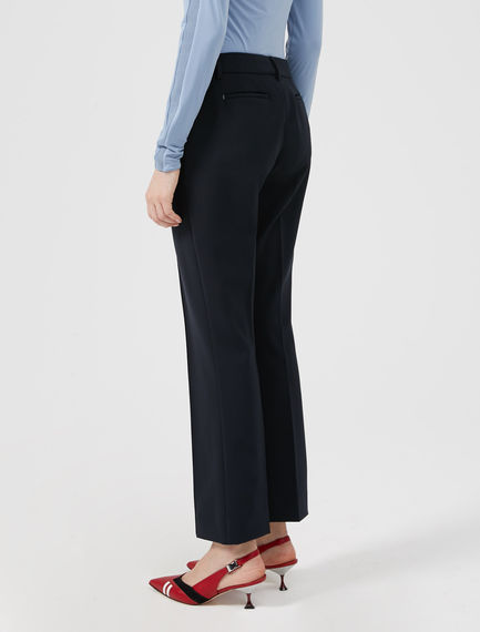 Tailored Flare Trousers