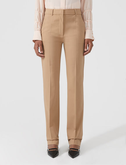 Streamlined Equestrian-inspired Trousers