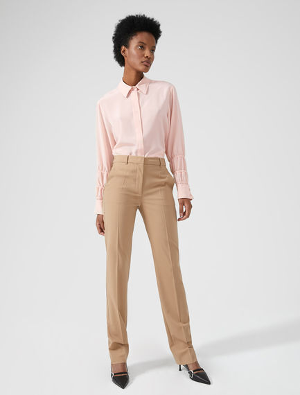 Streamlined Equestrian-inspired Trousers Sportmax