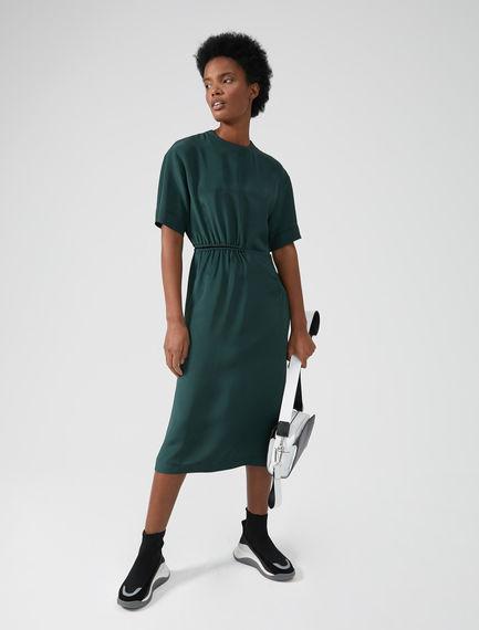 Silk Crêpe de Chine T-shirt Dress