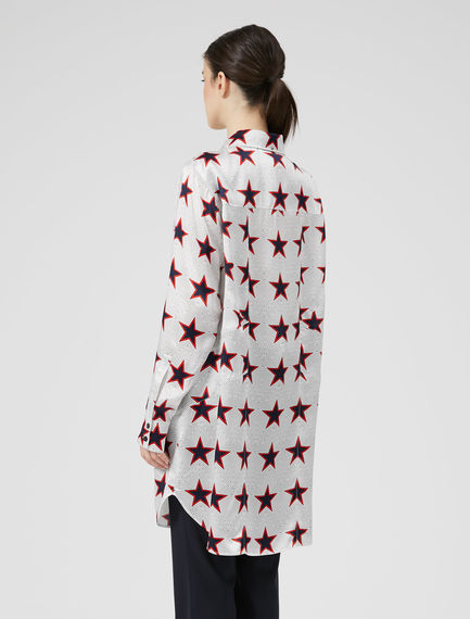 Star Print Painters' Shirt