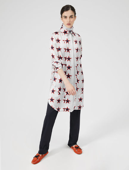 Star Print Painters' Shirt Sportmax