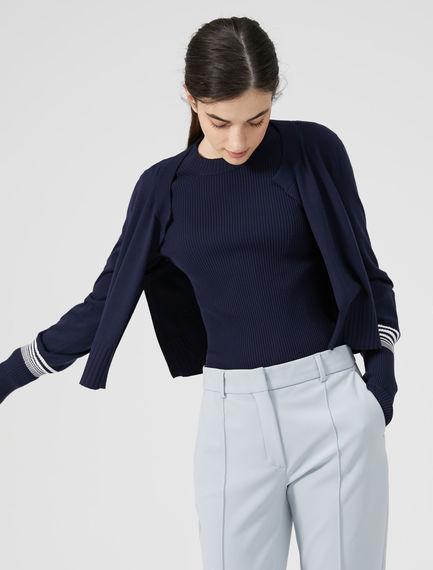 Stripe Sleeve Cardigan Sportmax