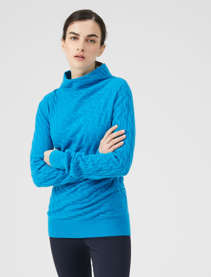 Braided Cashmere Sweater Sportmax