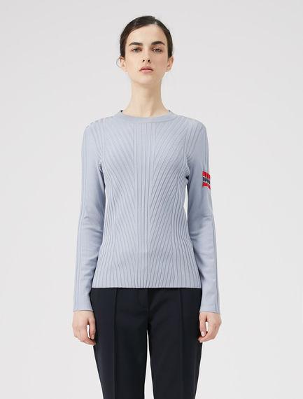 Patch Pocket Viscose Sweater
