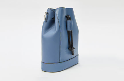 Nappa Leather Bucket Bag