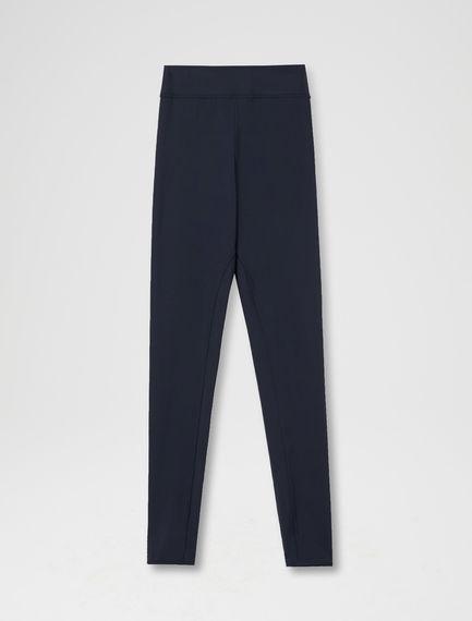 Zip-ankle Jersey Leggings