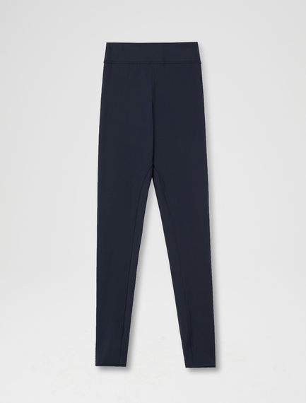 Zip-ankle Jersey Leggings Sportmax