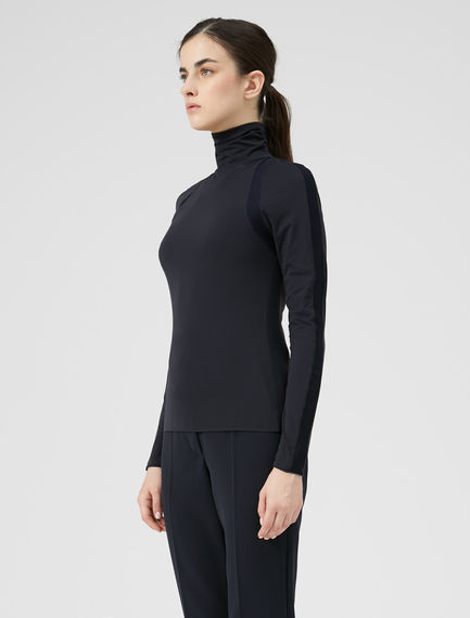 Technical Rib Turtleneck