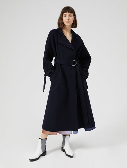 Raglan Sleeve Wool Coat Sportmax
