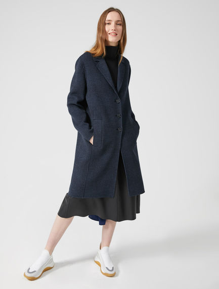 Oversized Wool Blend Coat Sportmax