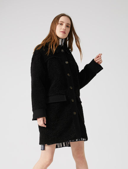 Teddy Fur Car Coat Sportmax