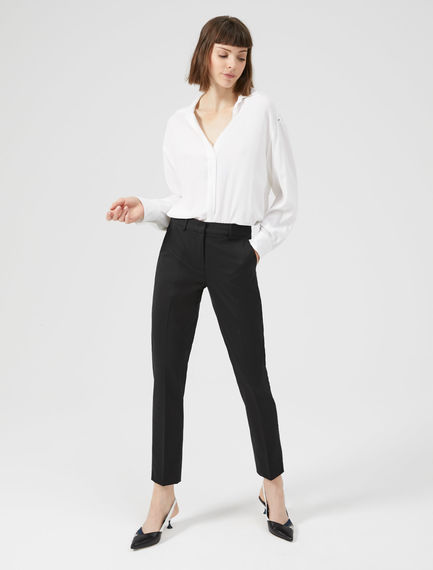 Tailored Wool Trousers Sportmax