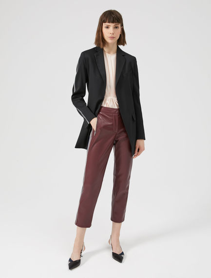 Slim-cut Biker Trouser