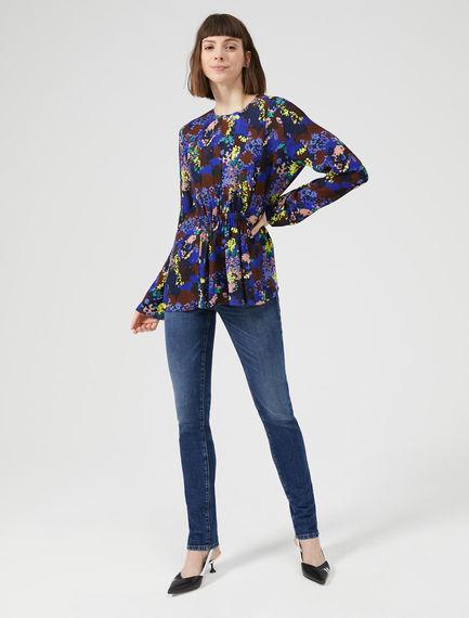 Worn-effect Skinny Jeans
