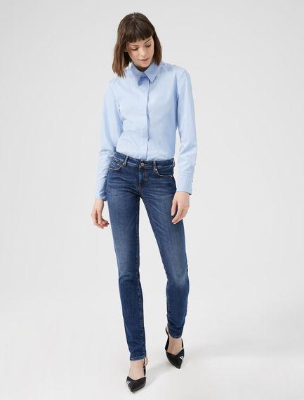 Worn-effect Skinny Jeans Sportmax