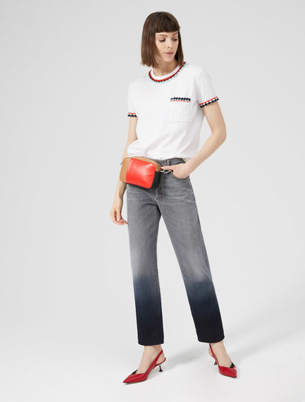 Grey Ombre Boyfriend Jeans Sportmax