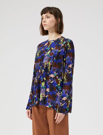 Floral Peplum Blouse