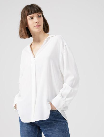 Fusion Silk Crêpe Shirt Sportmax