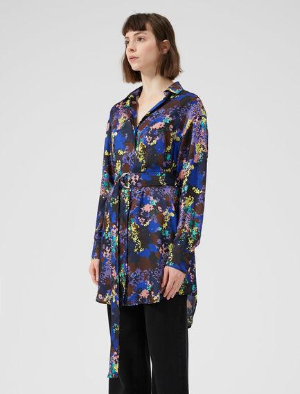 Flower Camo Shirtdress