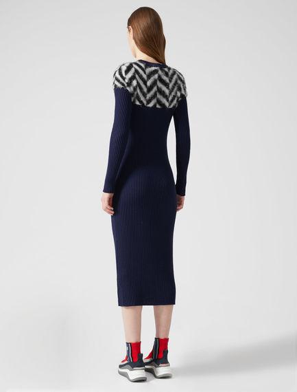 Alpaca Chevron Sweater Dress