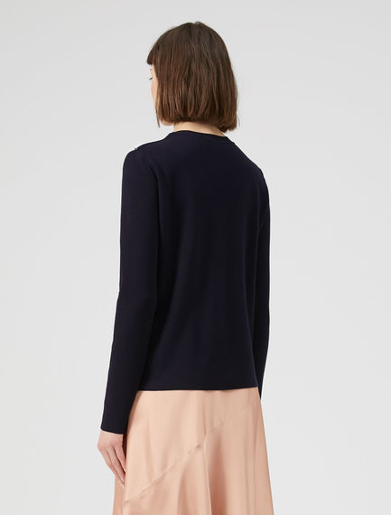 Nordic Harbour Viscose Knit Sweater Sportmax
