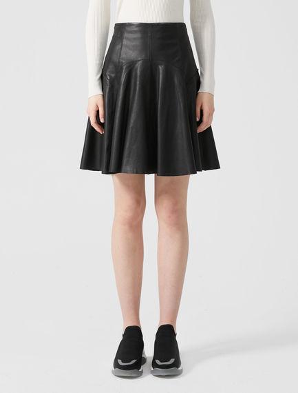Nappa Skater Skirt