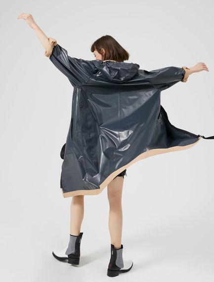 Hooded Reversible Raincoat