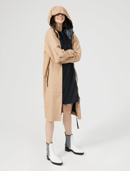 Hooded Reversible Raincoat Sportmax