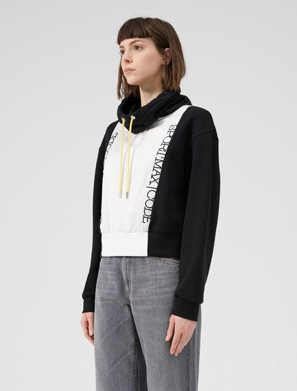 Monochrome Hooded Sportmax Code Sweatshirt