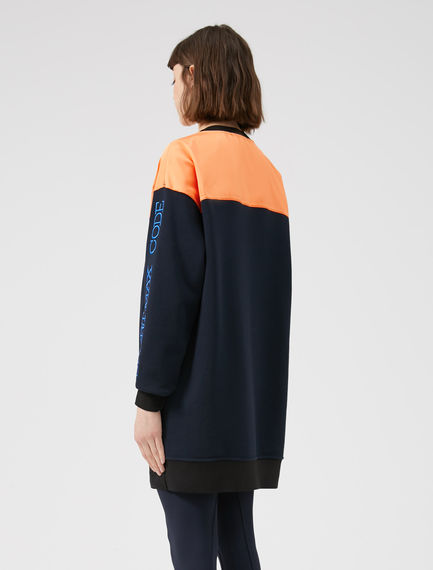 Tri-Tone Sportmax Code Tunic Sweatshirt