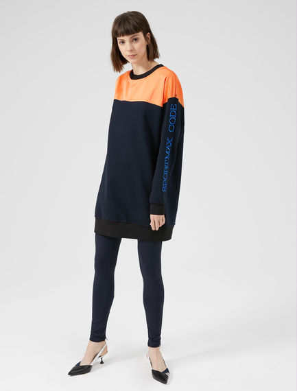 Tri-Tone Sportmax Code Tunic Sweatshirt Sportmax