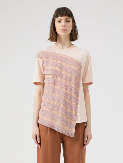 Tulle Trim T-shirt