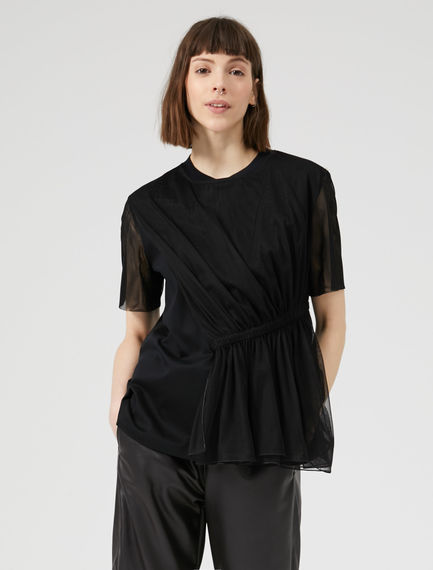 Twisted Tulle Top Sportmax