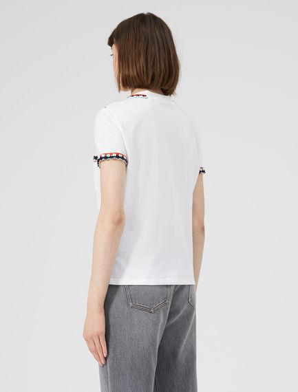 Crochet Pocket T-shirt