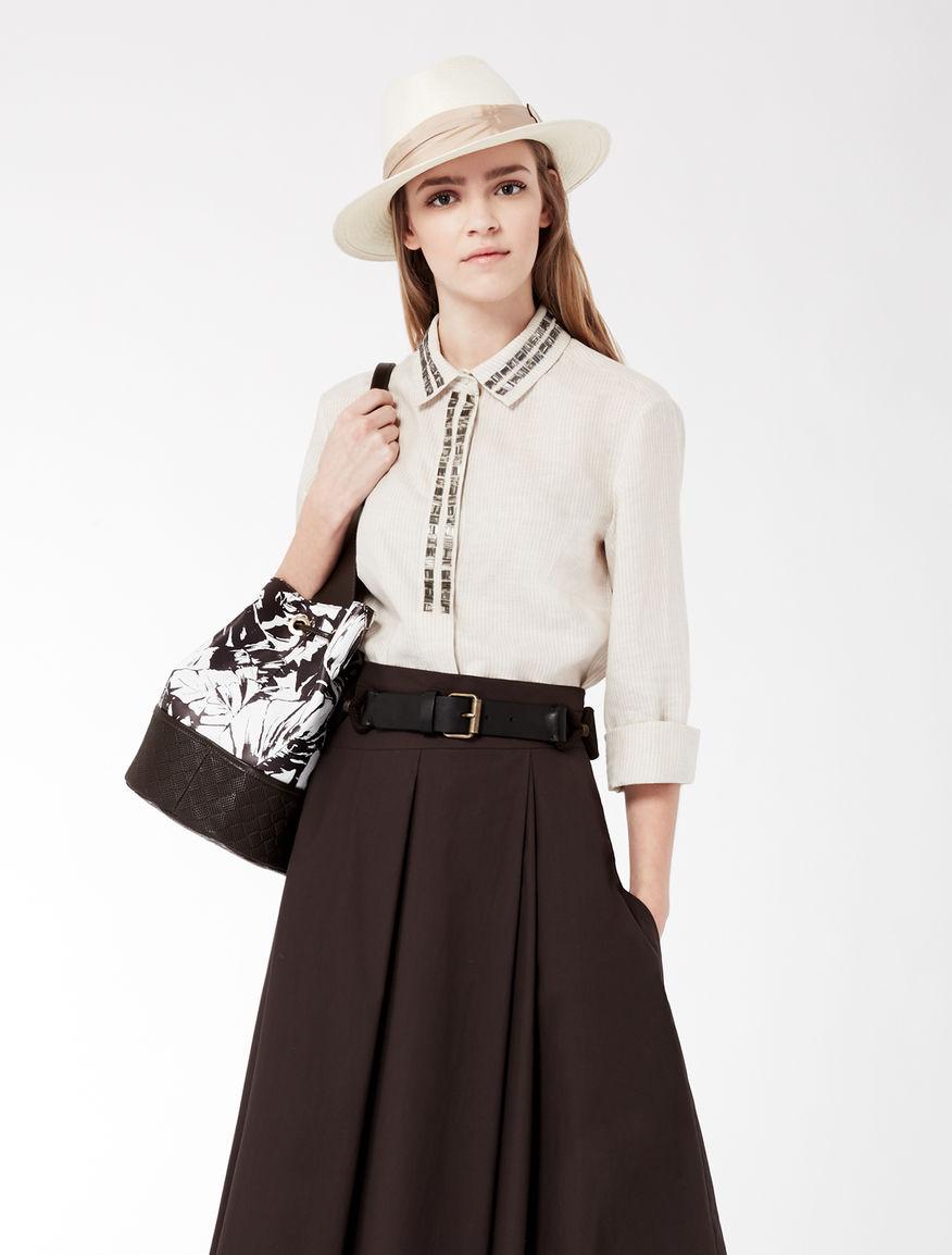 Embroidered linen shirt Weekend Maxmara