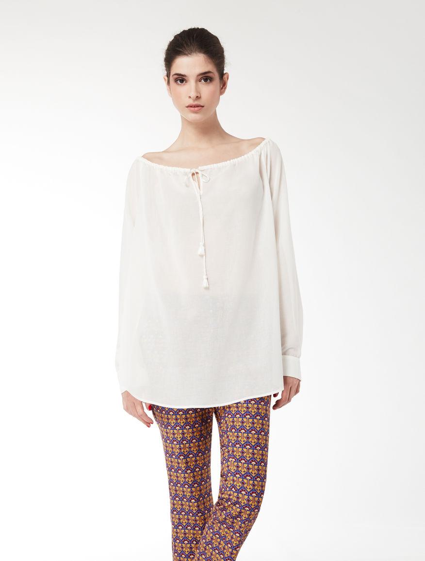 Cotton crêpe shirt Weekend Maxmara