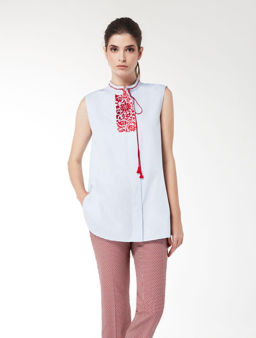 Sleeveless Oxford shirt Weekend Maxmara
