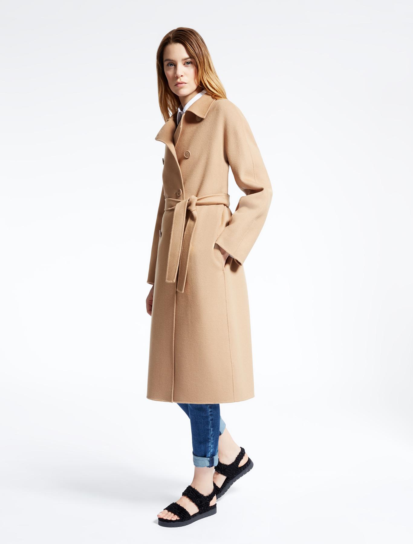 wool coat camel weekend max mara. Black Bedroom Furniture Sets. Home Design Ideas