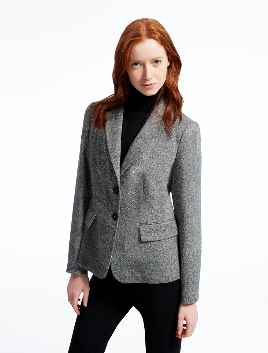 Silk and wool tweed jacket Weekend Maxmara