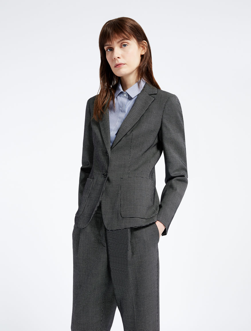 Wool and silk blazer Weekend Maxmara