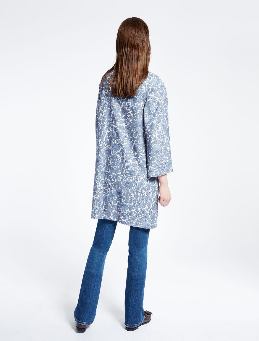 Cotton basketweave duster coat Weekend Maxmara