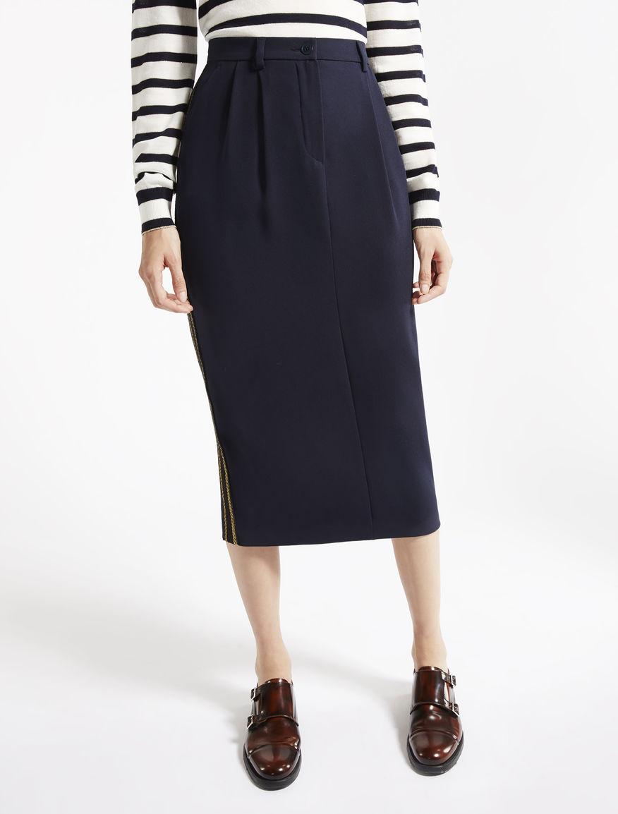 Sablé fabric skirt Weekend Maxmara