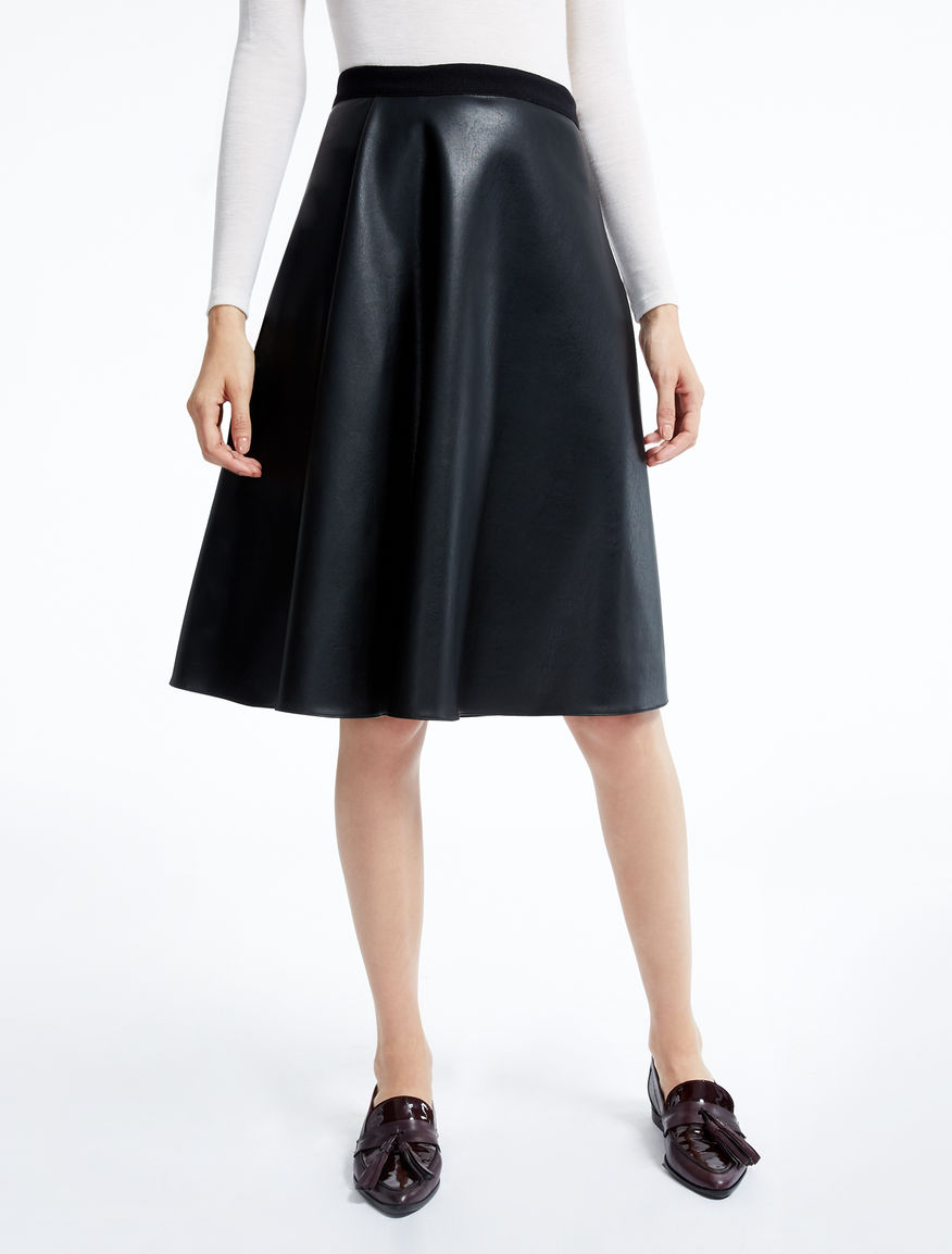 Skirt in coated fabric Weekend Maxmara