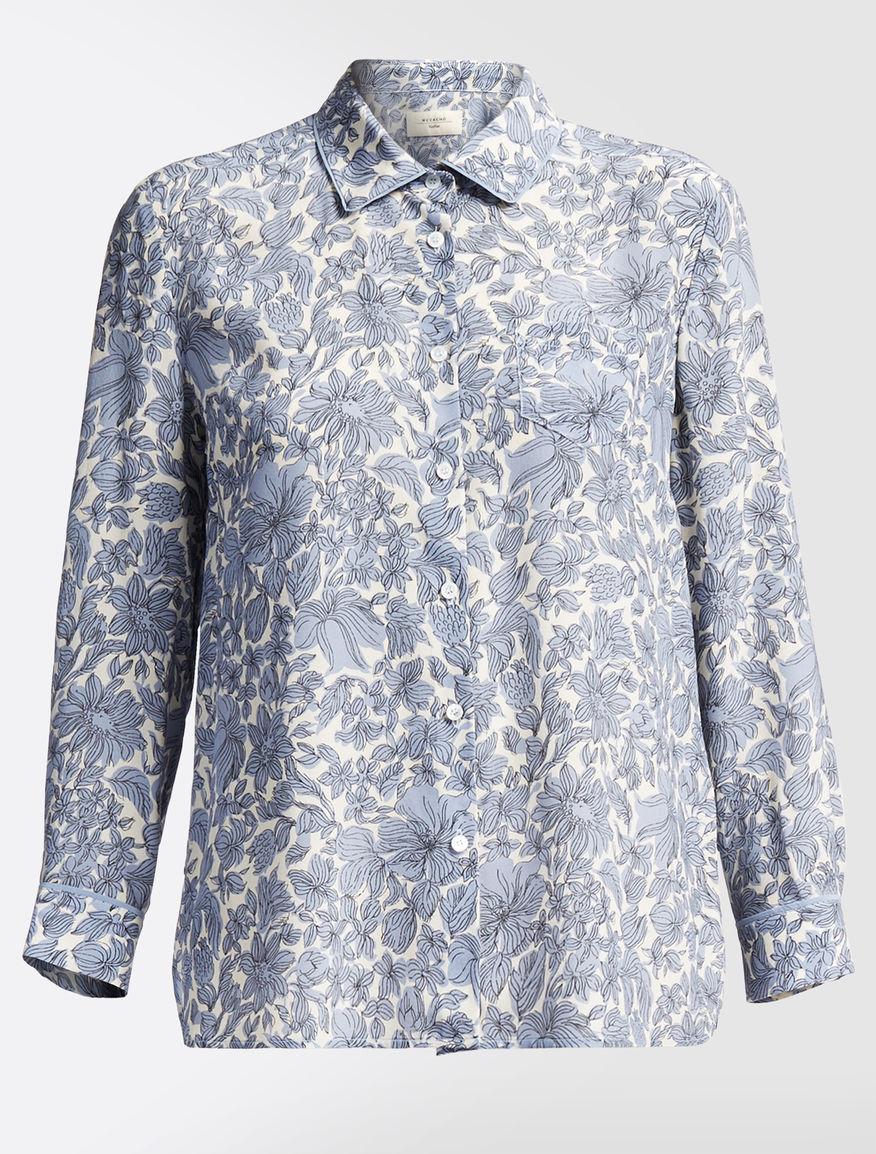 Silk crêpe de chine shirt Weekend Maxmara