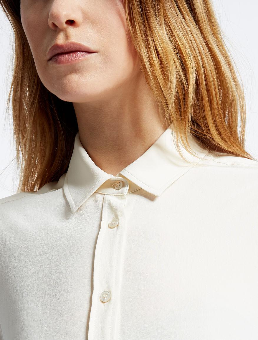 Pure silk crêpe de chine shirt Weekend Maxmara