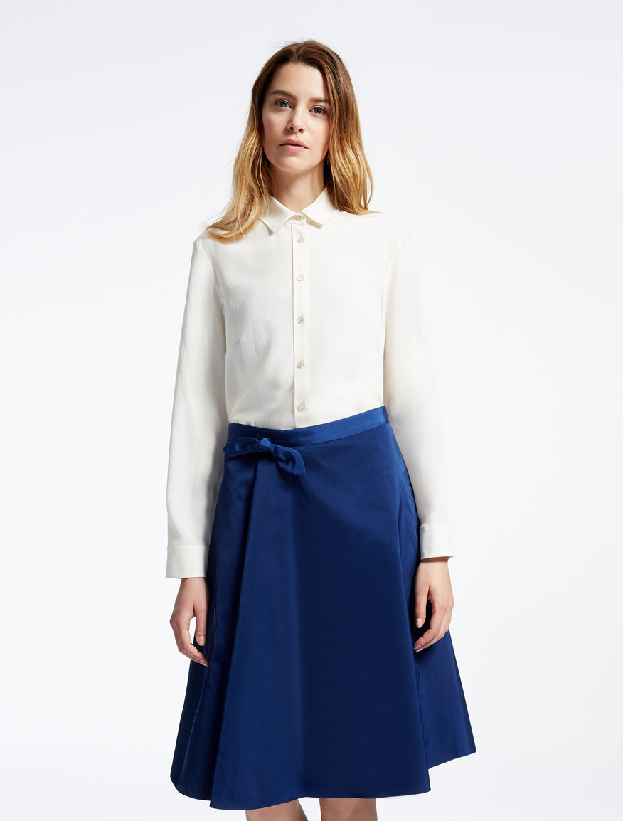 Pure silk crêpe de chine shirt Weekend Maxmara